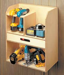 Cordless Tool Storage Cabinet