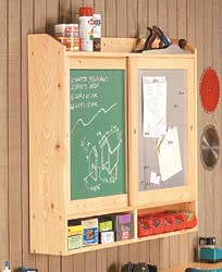 Sliding-Door Wall Cabinet