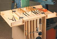 Lathe Tool Cabinet