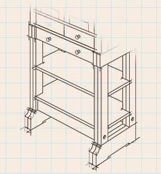Cabinet Base Shelves
