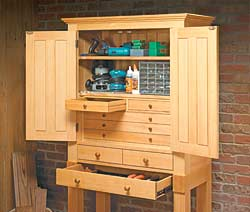 Heirloom Tool Cabinet