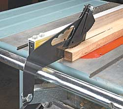 Snap-In Table Saw Splitters