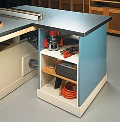 Table Saw Workcenter Optional Outfeed Stand