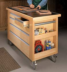14 work surface expansion plans workstations carts and