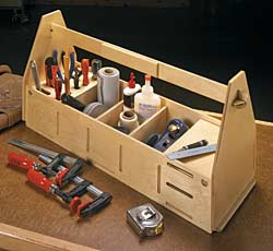Tab-and-Slot Tool Tote