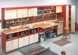 Workbench and storage center