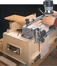 Dovetail Jig Workcenter