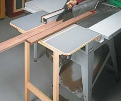 Table Saw Outfeed Support
