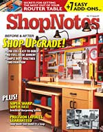Shopnotes Magazine No 97 Table Of Contents