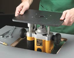 6-step Router Plate Installation