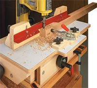 Precision Mortising Table