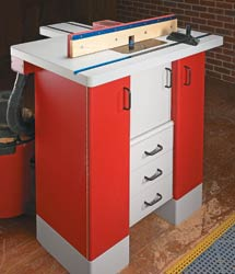Router Table Option: Door & Back