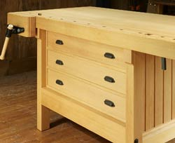 Cabinetmaker's Workbench Drawers