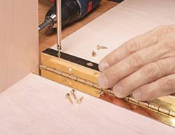 Selecting Continuous Hinges