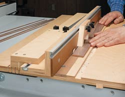 Table Saw Small Parts Jig