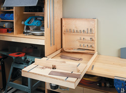 Drop-Down Router Table Model