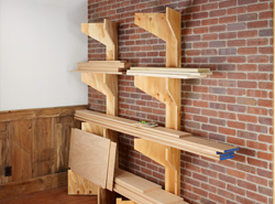 Plywood Lumber Rack