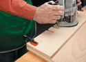 Routing Shelf Pin Holes