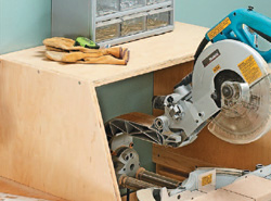 Miter Saw Workstation Model