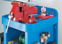 Rock-Solid Bench Vise Stand