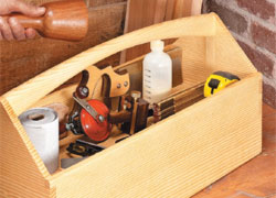 Dovetailed Tool Tote