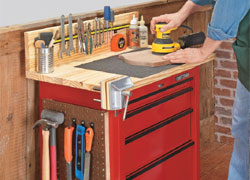 Tool Cabinet Makeover