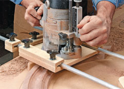 Router Molding Jig