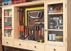 Wall-Mounted Shop Cabinet