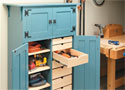 Roll-Around Tool Cabinet