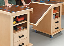 Multifunction Storage Carts