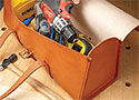 Leather Tool Tote