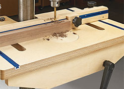 Easy-Adjust Drill Press Table