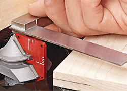 Setting Up a Lock Miter Bit