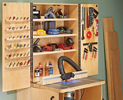 Router Table Cabinet