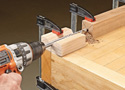 Shop Secrets: Drilling End Grain