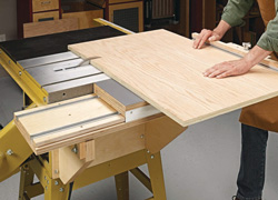 Sliding Table Saw Table
