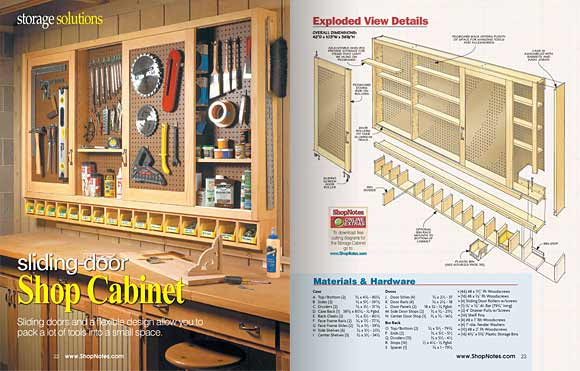 Pages 22 and 23, Storage Solutions