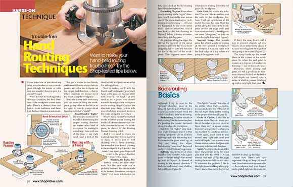 Pages 28 and 29, Hands-On Technique