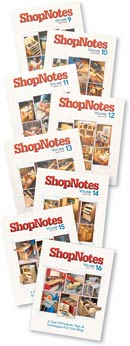 ShopNotes Hardcover Volumes