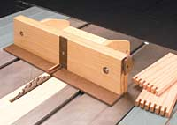Box Joint Jig - Multiple Fence System