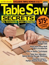 Table Saw Secrets Cover